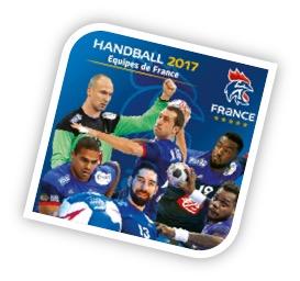 Ecusson Handball Equipe de France 2017